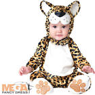 Leopard Baby 0-24 Months Fancy Dress Animal Zoo  Boys Toddler Infant Costume New