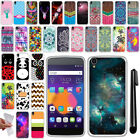 "For Alcatel OneTouch IDOL 3 4.7"" TPU SILICONE Soft Protective Case Cover + Pen"