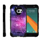 For HTC 10 | One M10 | Dual Bumper Case  Kickstand- Heavenly Stars