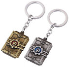 New Hearthstone Heroes of Warcraft Metal Keychain Key Ring Pendant Cosplay Gift