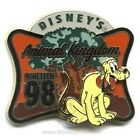 Disney Theme Parks Animal Kingdom Opening Retro Pluto1998 Tree of Life pin