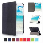 Ultra Slim Smart Leather Folio Case Cover Skin Stand For Samsung Galaxy Tablet