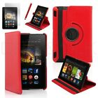 """360 Rotating PU Leather Case Stand Cover For 2013 Amazon Kindle Fire HDX 7 7.0"""""""