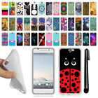For HTC One A9 Aero TPU SILICONE Rubber SKIN Soft Protective Case Cover + Pen