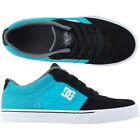 KIDS DC SHOES YOUTH COLE PRO BLACK BLUE BKB child boys skate bmx trainers