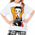 Betty Boop Girls Kid Youth T-Shirt Tee Age 3-13 New £10.49 GBP on eBay