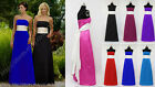 Maxi Long sash party flower girl pageant communion ballgown evening dress gown