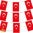TURKEY EURO FOOTBALL 2016 COUNTRY BUNTING 33FT LARGE FLAG DECORATION 20 FLAGS