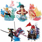 Bandai One Piece Stacking Vignette episode of fish-man island Figure