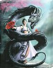 New Anne Stokes Dragon Dancer Canvas Print