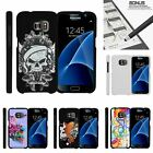 For Samsung Galaxy S7| Slim Fit Hard 2 Piece Case Black