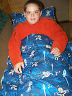 """8-10 pd WEIGHTED twin  BLANKET """"Toy Story"""" ADHD autism INSOMNIA """"FREE"""" pillow"""