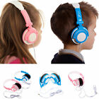 Folding Travel Kids DJ Style Headphones suitable for Tesco Hudl 1 / 2 Tablet