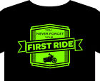 Biker T Shirt up to 5XL first ride motorcycle
