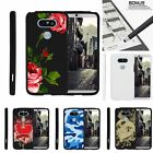 For LG G5| Slim Fit Hard 2 Piece Case Affectionate Flowers