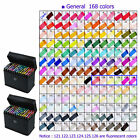 168 Color SET TouchFive Alcohol Graphic Art Twin Tip Pen Marker Broad Fine Point