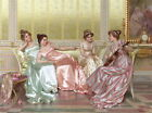 Wall Art Print Ladies Talent Show Oil painting Picture Printed on canvas P499