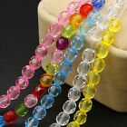 30/50X 6/8mm Colorful Loose Beads Acrylic Jewelry Findings Fit Bracelet Necklace
