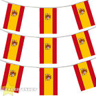 SPAIN BUNTING 33,100,200,400FT SPANISH LARGE DECORATION NATIONAL COUNTRY FLAG