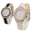 Fashion New Analog Quartz Watches Women Stainless Steel Crystal Dial Wrist Watch