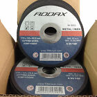 STAINLESS STEEL ANGLE GRINDER CUTTING DISCS - ULTRA THIN 1mm - FCMT115222