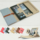 Ретро Briefcase Smart Leather Case Cover Stand For Apple iPad 2 3 4 5 AIR 2 MINI