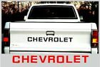 82-91 Chevy S10 Truck Pickup Tailgate Letter Decals
