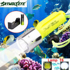 3500LM XM-L T6 LED Underwater Scuba Diving Flashlight Torch Lamp +18650 +Charger