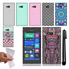 For Nokia Lumia 735 TPU SILICONE Rubber SKIN Soft Case Phone Cover + Pen