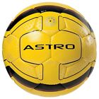 New Precision Astro Football PU Outer Hand Sewn Soccer Ball Fluo Yellow/Black