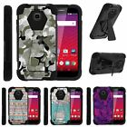 bumper or case - For Huawei Union| Dual Bumper Case Kickstand Swamp Camouflage
