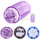2Pcs/set Jelly Silicone Image Stamper Scraper Nail Art Stamping Manicure Tools