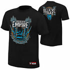 WWE ROMAN REIGNS Spare No One Spear Everyone Believe That AUTHENTIC T-SHIRT NEU