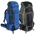 New Expedition 85 Rucksack - Blue, Black Backpacking Expedition Camping Rucksack