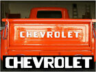 54-87 Stepside Chevy Pickup Truck Tailgate decal Letters, 67-72, 73-80, 81-87