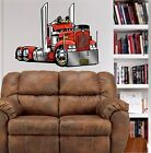 Kenworth Big Rig Cab Hauler WALL GRAPHIC DECAL #9081 MAN CAVE GARAGE DECOR