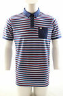 Weekend Offender Killip Polo Shirt Cotton Multi Stripe Size XXXL 3XL RRP £50
