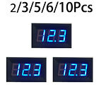 2/ 3/ 5/ 6/ 10Pcs  DC 4.5-30V Blue LED Panel LED Display Voltage Meter Voltmeter