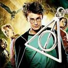 Hot Deathly Hallows Metal Necklace Pendant Film Movie Harry Potter Gifts MSYG