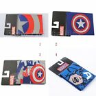 Super Hero Captain America PVC Short Purse Wallet