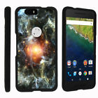 For Google Nexus 6P Case Hard Snap On 2 Piece Slim Shell Outer Space