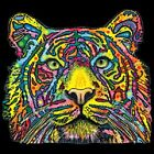 New Tiger   Neon Black Light   Tshirt    Sizes/Colors