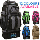 Extra Large 120 L Travel Backpack Hiking/Camping Rucksack Luggage Bag