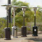 NEW 48,000 BTU Outdoor Patio Heater Propane Standing LP Gas CSA, Steel, w/ Wheel