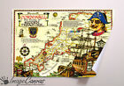 KIDS PIRATE MAP GIANT WALL ART POSTER A0 A1 A2 A3