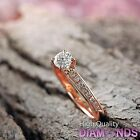 Natural Diamond Engagement Ring 14k Gold Jewelry 0.94 TCW VS/G-H Size 7 Enhanced