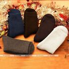 5 Pairs Mens Casual Socks Winter Thermal Thick Soft Cotton Fleece Sport Stocking