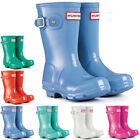 Unisex Kids Hunter Original Gloss Rain Festival Wellington Snow Boots New UK 7-2