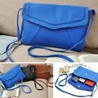 Womens Ladies PU Designer Leather Tote Satchel Shoulder Bag Crossbody Handbag