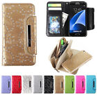 Zipper Leather Magnetic REMOVABLE Detachable Wallet Flip Case Cover for Phones